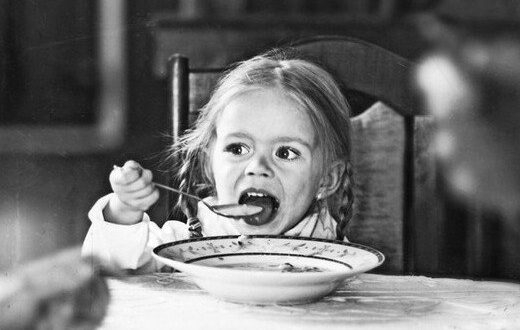 Ребенок хорошо ест