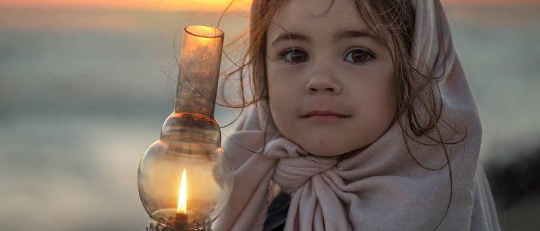 ребенок с чистым сердцем