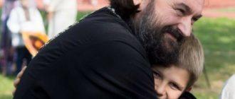 Андрей Ткачев с ребенком