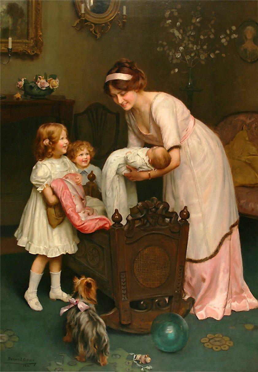 Артур Джон Элсли (1860 – 1952)  Goodnight
