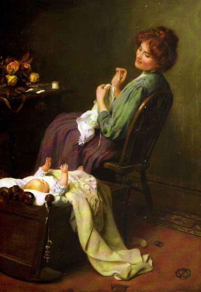 Артур Джон Элсли (1860 – 1952) «Маменькин сынок»