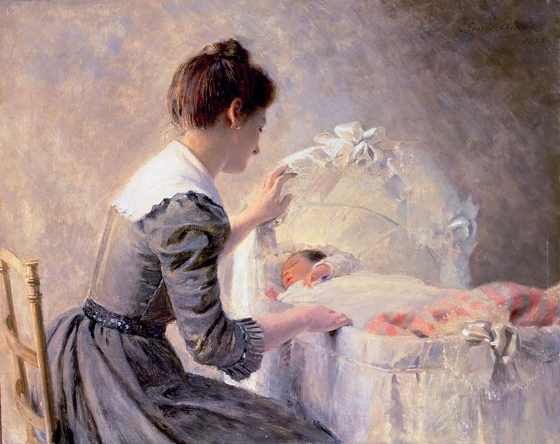 Луи Эмиль Адан (1839-1937) «Материнство»