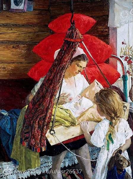 Пластов Аркадий Александрович (1 893 — 1972) «Мама»