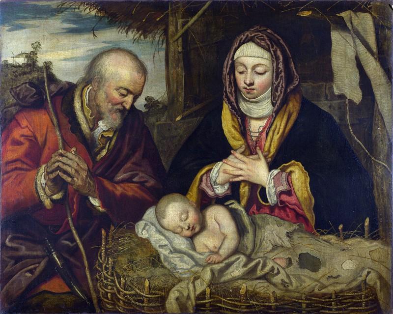 «Рождество» Якопо Тинторетто